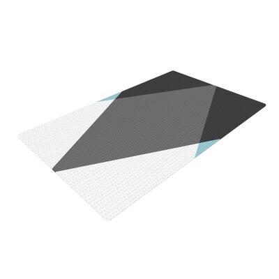 Suzanne Carter Diamonds Gray/Blue Area Rug