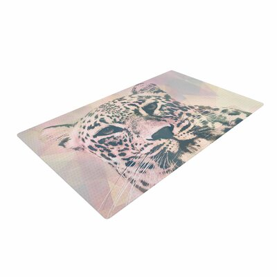 Suzanne Carter Tawny Pink/Black Area Rug