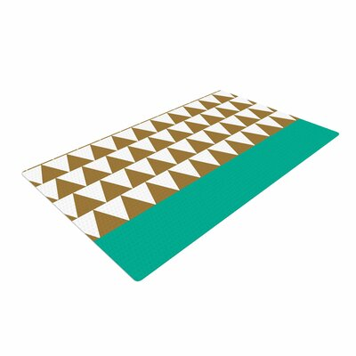 Suzanne Carter Geo Black/Green Area Rug