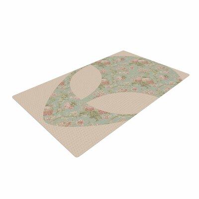 Alias Floral Alien Pink/Teal Area Rug