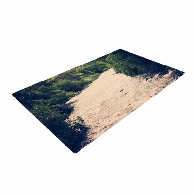Sylvia Coomes Cold Stream Photography Green Area Rug