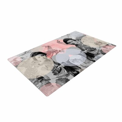 Suzanne Carter Kyoto Girl Gray/Pastel Area Rug