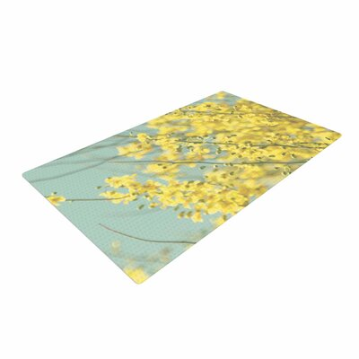 Sylvia Coomes Blooms Yellow/Blue Area Rug