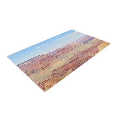 Sylvia Coomes Grand Canyon Panoramic Travel Nature Area Rug