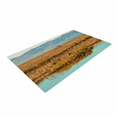 Sylvia Coomes Reflective Landscape Blue/Brown Area Rug