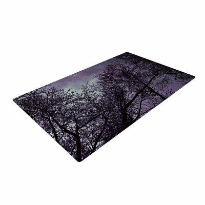 Sylvia Coomes Sky Purple/Lavender/Black Area Rug