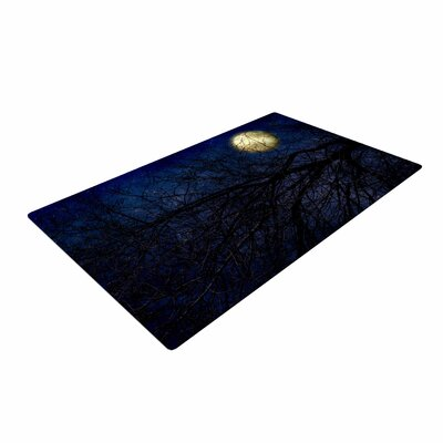 Sylvia Coomes Moon Celestial Blue Area Rug