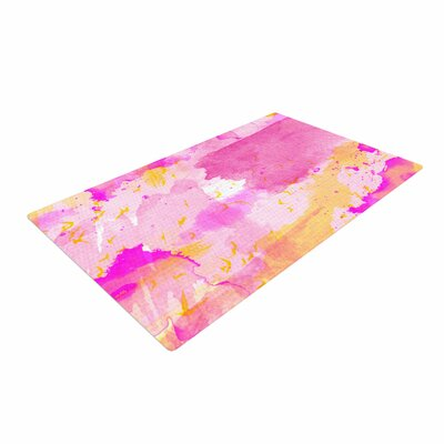 Shirlei Patricia Muniz Yellow/Pink Area Rug