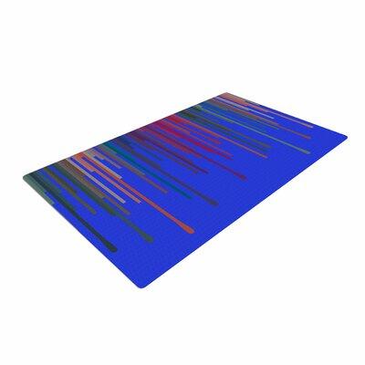 Trebam Vosak Blue/Red Area Rug