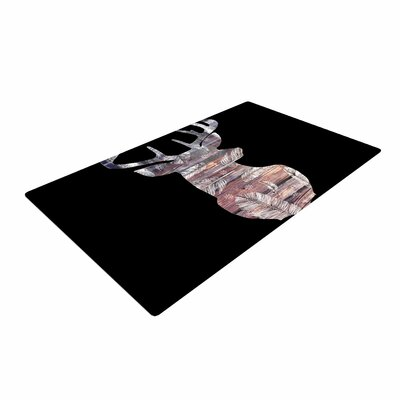 Suzanne Carter The Road Black/Brown Area Rug