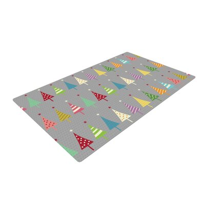 Snap Studio Crazy Trees Rainbow Area Rug Rug Size: Rectangle 2 x 3