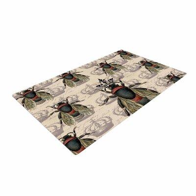 Suzanne Carter Queen Bee Black/Tan Area Rug
