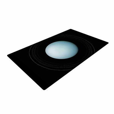 Alias Uranus Blue/Black Area Rug Rug Size: 4 x 6