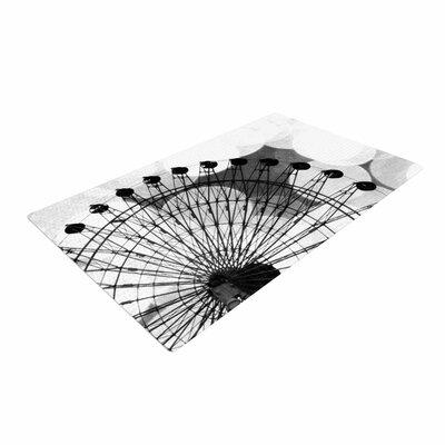 Sylvia Coomes Ferris Wheel Black/White Area Rug