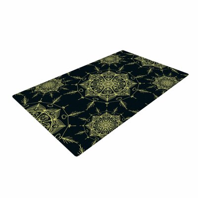 Shirlei Patricia Muniz Mystic ll Abstract Green Area Rug