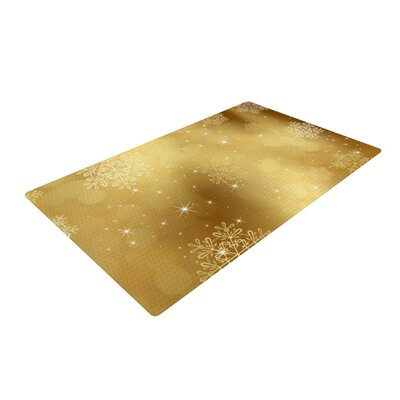 Snap Studio Golden Radiance Yellow Area Rug Rug Size: 4 x 6