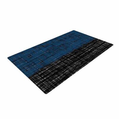 Trebam Platno Blue/Black Area Rug