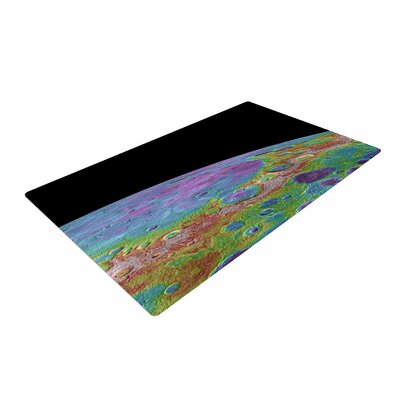 Alias Mercurys Closeup Abstract Area Rug Rug Size: 2 x 3