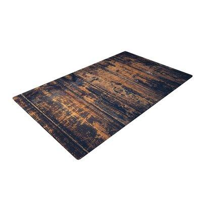 Susan Sanders Barn Floor Rustic Gray Area Rug Rug Size: 2 x 3