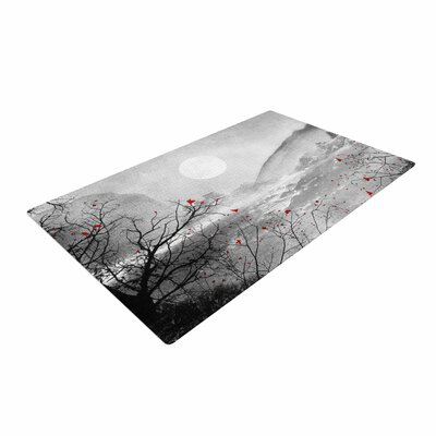 Viviana Gonzalez The Sounds and Poems, Chap Red/Gray/Black Area Rug
