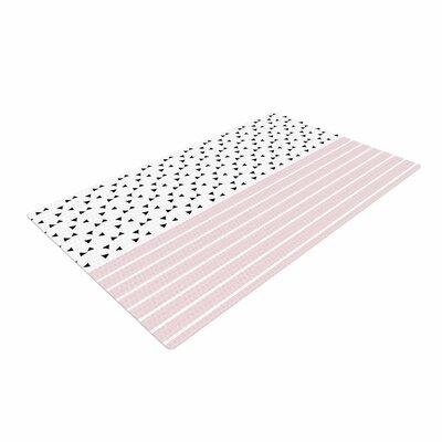 Trebam Razni Pink/Black Area Rug Rug Size: 2 x 3