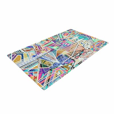 Vasare Nar Abstract Geometric Playground Multicolor/Pastel Area Rug