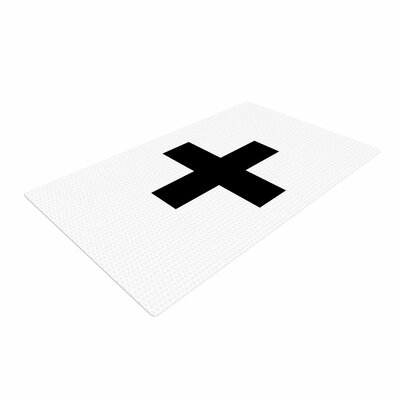Trebam Plus V.2 White/Black Area Rug