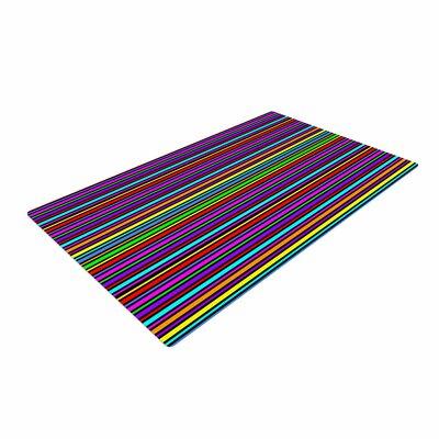 Trebam Kolor Stripes Multicolor Area Rug