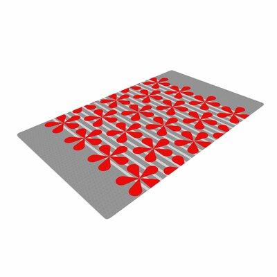 Trebam Crvena Red/Gray Area Rug