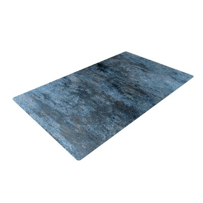 CarolLynn Tice Familiar Dark Blue Area Rug