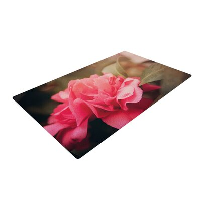 Angie Turner Camelia Flower Pink Area Rug Rug Size: 2 x 3