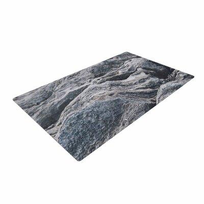Will Wild Stone Landscape Gray/Nature Area Rug