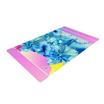 Danny Ivan Alothea Pink/Blue Area Rug Rug Size: 4 x 6