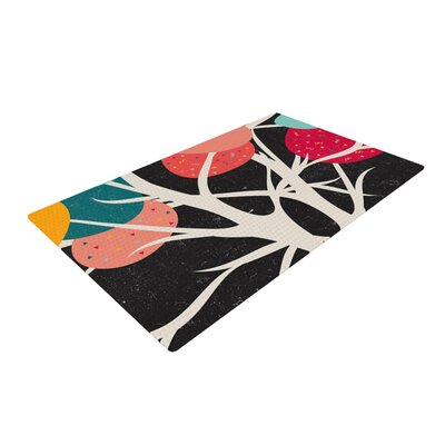 Danny Ivan Lovely Tree Branches Area Rug Rug Size: 2' x 3'