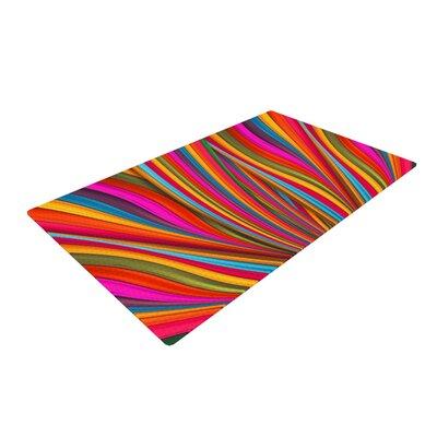 Danny Ivan Believer Multicolor Area Rug Rug Size: 2 x 3