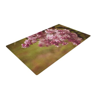 Angie Turner Lilacs Flower Pink Area Rug Rug Size: 2 x 3