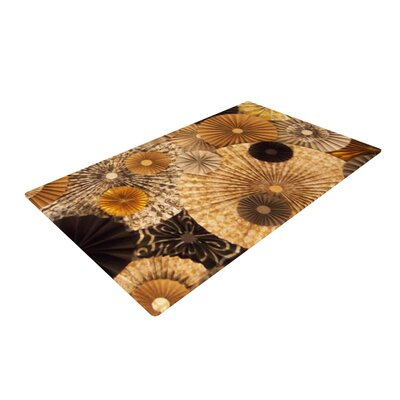 Heidi Jennings Grounded Paper Brown Area Rug Rug Size: 4 x 6