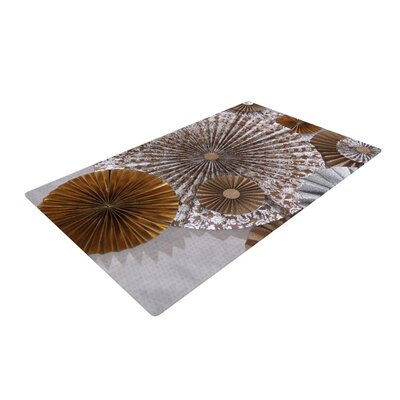 Heidi Jennings Venice Brown/White Area Rug Rug Size: 4 x 6