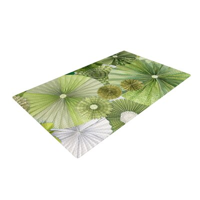 Heidi Jennings Thumb Lime Green Area Rug Rug Size: 2 x 3