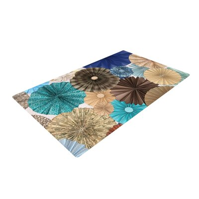 Heidi Jennings Day at the Beach Tan/Aqua Area Rug