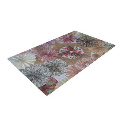 Heidi Jennings Lady Neutral Brown/Pink Area Rug Rug Size: 2 x 3