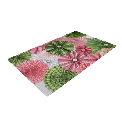 Heidi Jennings My Secret Fairytale Pink/Green Area Rug