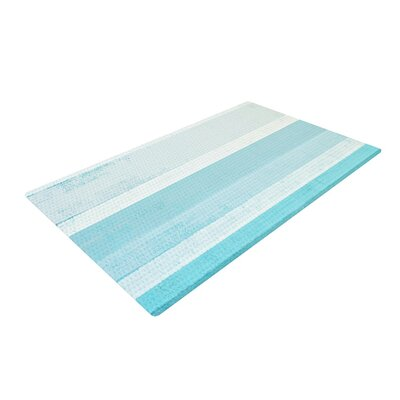 CarolLynn Tice Waves Blue/Aqua Area Rug