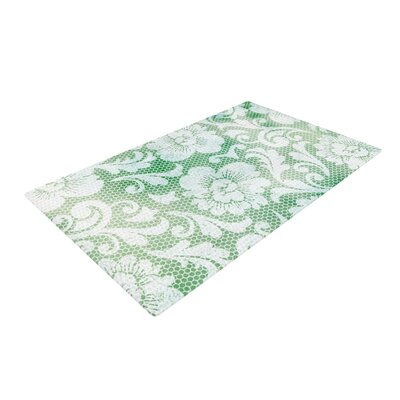 Heidi Jennings Daydreaming Floral Green Area Rug Rug Size: 4 x 6