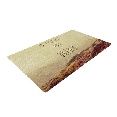 Ingrid Beddoes Believe Desert Quote Area Rug