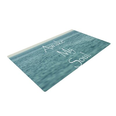 Debbra Obertanec Awake My Soul Blue/Teal Area Rug