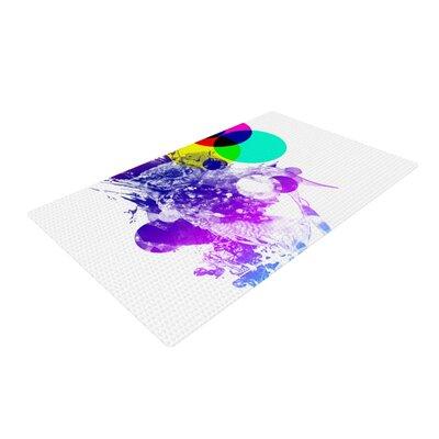 Frederic Levy-Hadida Owl Purple Area Rug Rug Size: 2 x 3