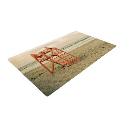 Debbra Obertanec Dusk at the Beach Ocean Area Rug