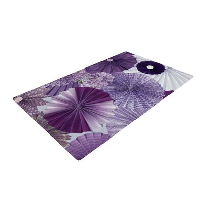Heidi Jennings Lavender Wishes Purple Area Rug Rug Size: 2 x 3