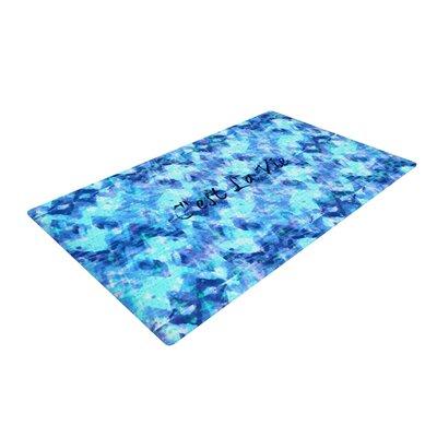 Ebi Emporium Cest La Vie Revisited Blue/Aqua Area Rug Rug Size: 4 x 6